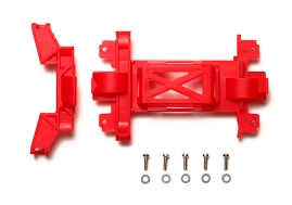 타미야,95367,TAMIYA, Rein Gear Cover MS Red M4S